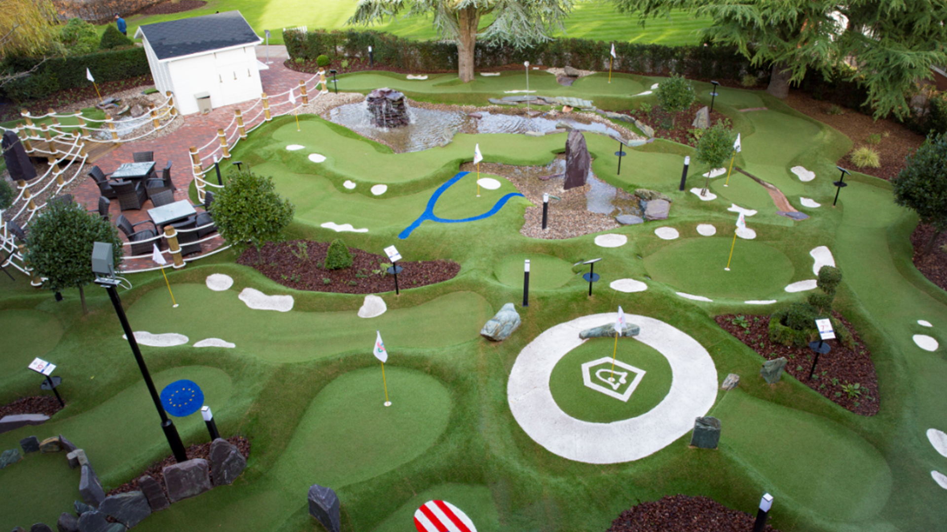 Mini Golf at The Belfry