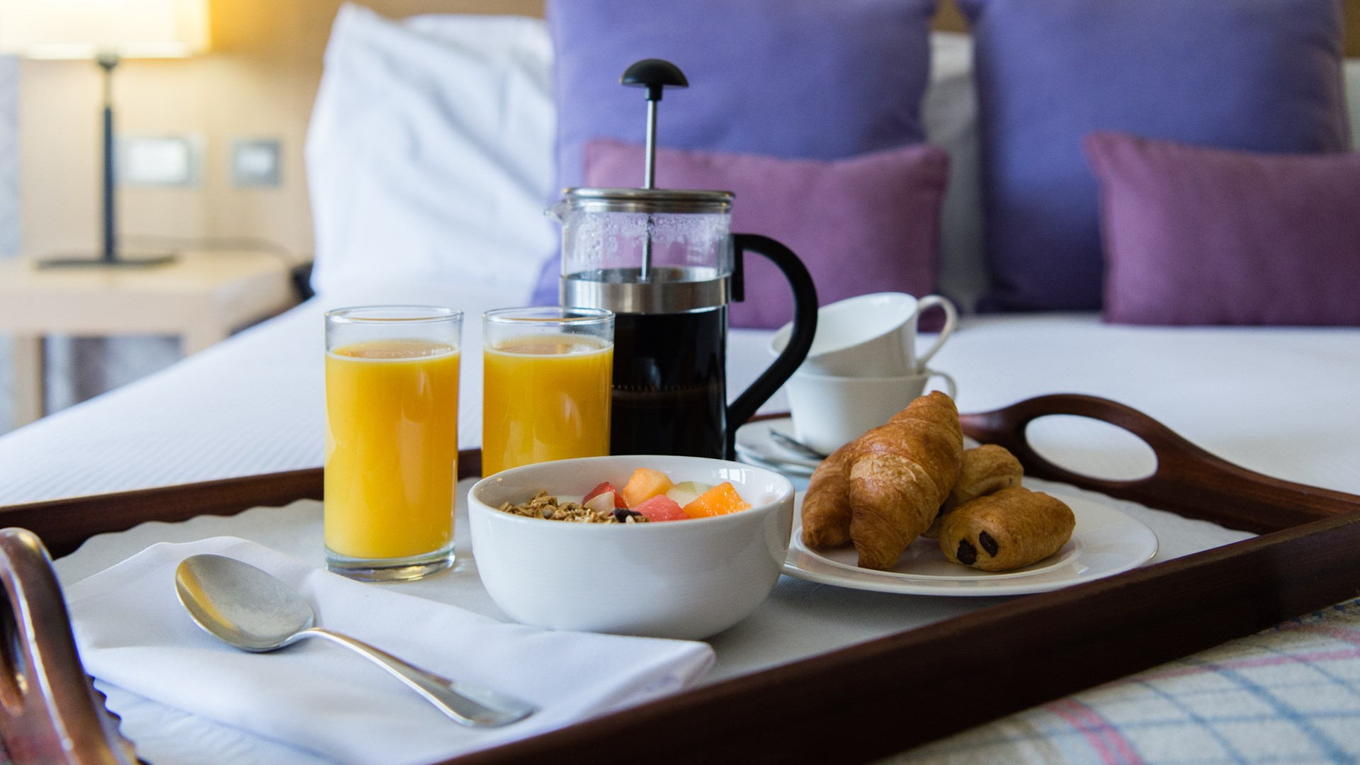 Manor House Suite Breakfast