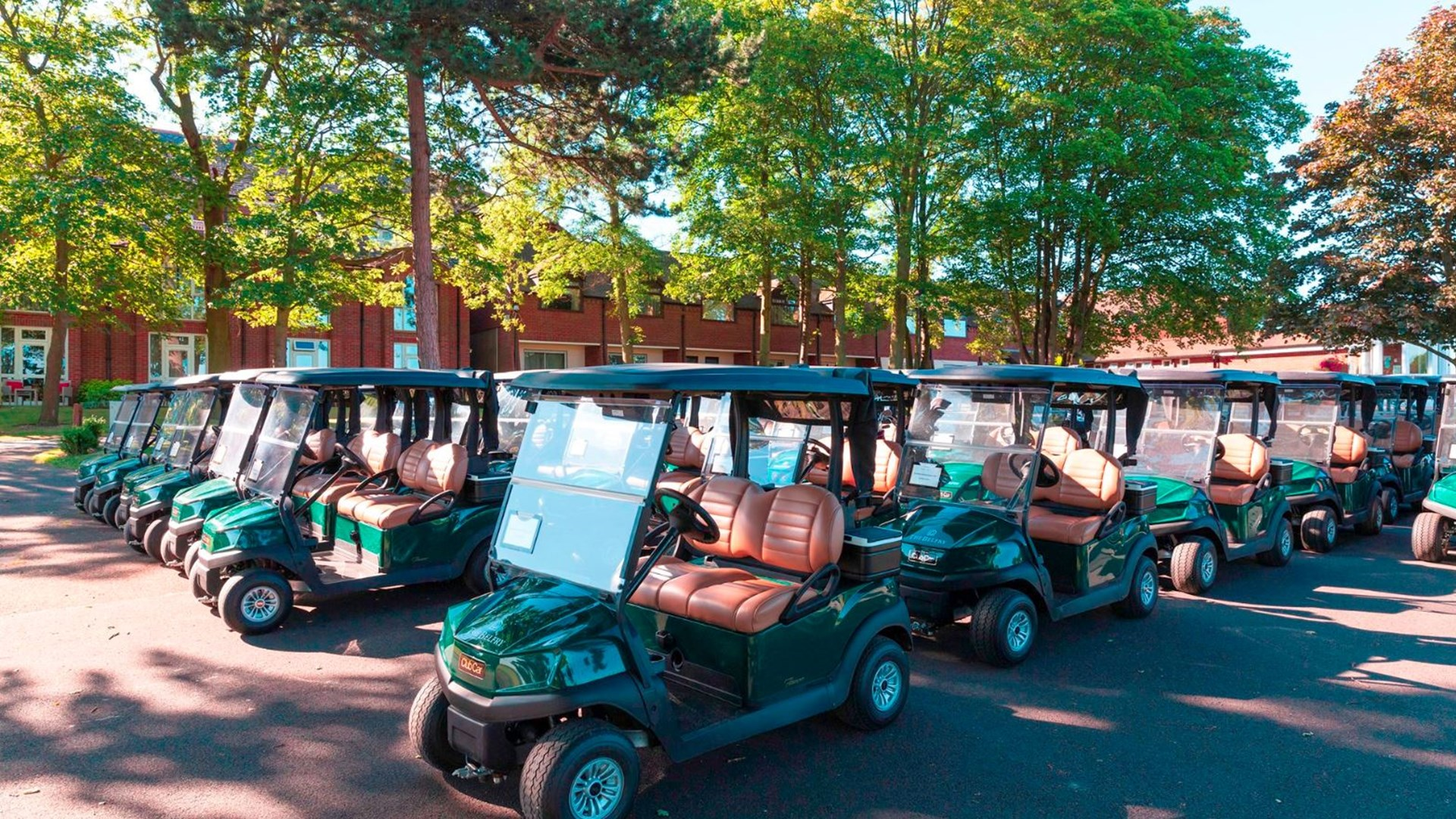 Golf Buggies at The Belfry
