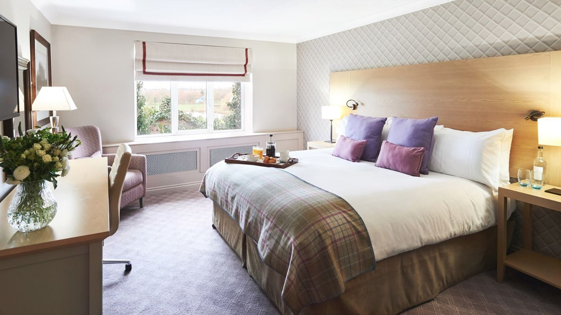 Suite Bedroom at The Belfry
